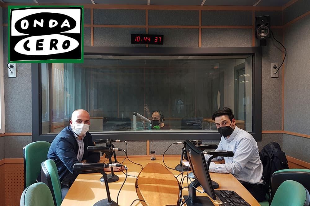 foto noticia: Grupo Kursaal y San Sebastián Shops presentamos en Onda Cero el estudio de calidad del aire llevado a cabo en los comercios de Donostia