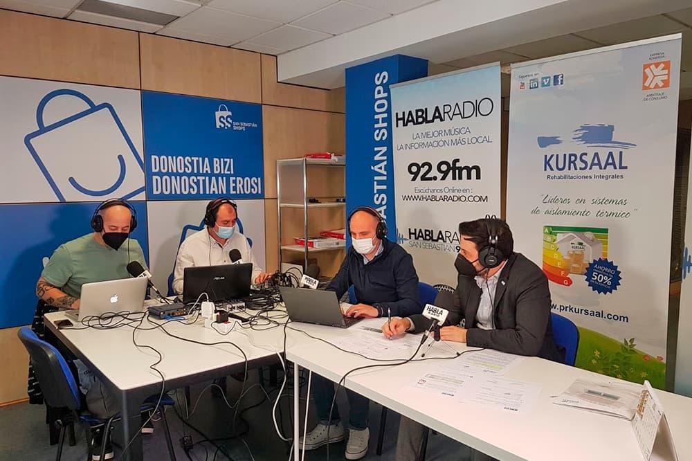 imagen 2 de noticia: presentamos-junto-a-san-sebastin-shops-el-estudio-de-calidad-del-aire-en-el-programa-el-recreo-de-habla-radio