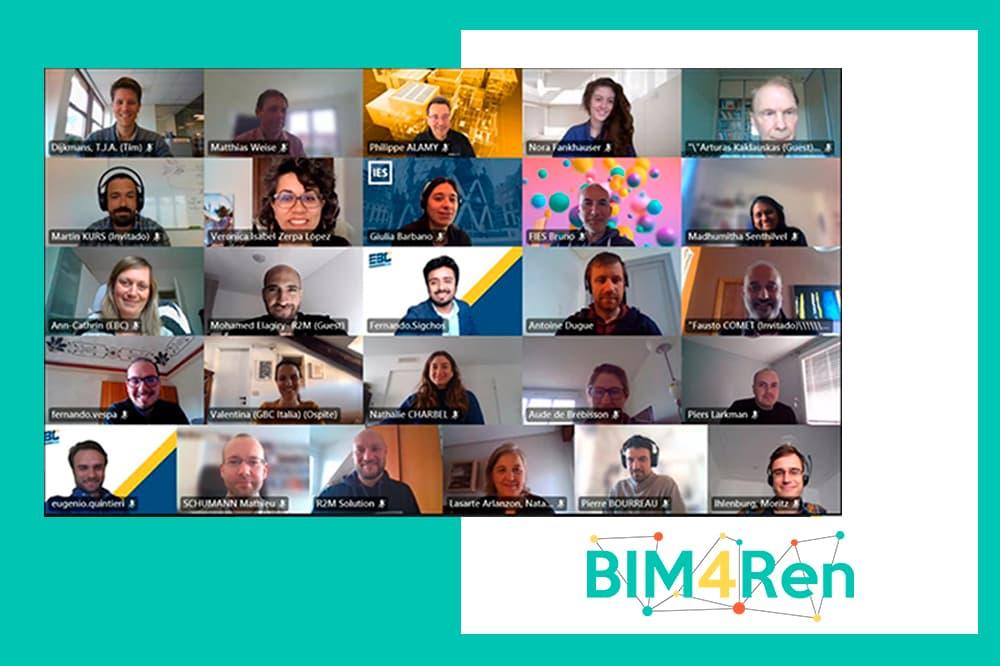 foto noticia: Asistimos a la 5ª Asamblea General del proyecto europeo BIM4Ren