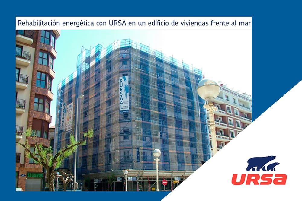 foto noticia: Publicación de URSA sobre nuestra rehabilitación energética con sistema de fachada ventilada en Claudio Antón Luzuriaga 1, Donostia