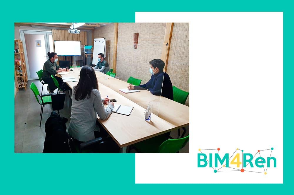 foto noticia: Seguimos trabajando en los proyectos piloto del proyecto europeo BIM4Ren