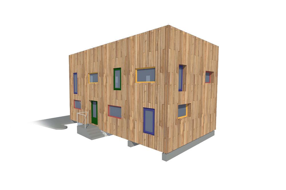foto noticia: Un nuevo edificio de madera en Usurbil Lanbide Eskola