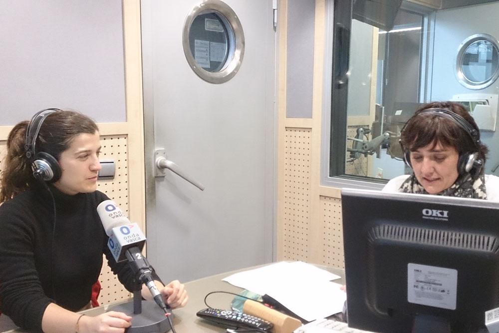 foto noticia: Presentada la Jornada PEP en Onda Vasca