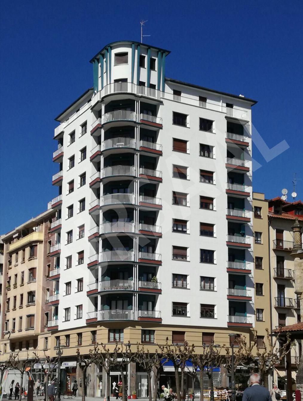trabajo realizado en: Aislamientos Térmicos y Eficiencia Energética-SATE-PASAIA-Gure Zumardia 3