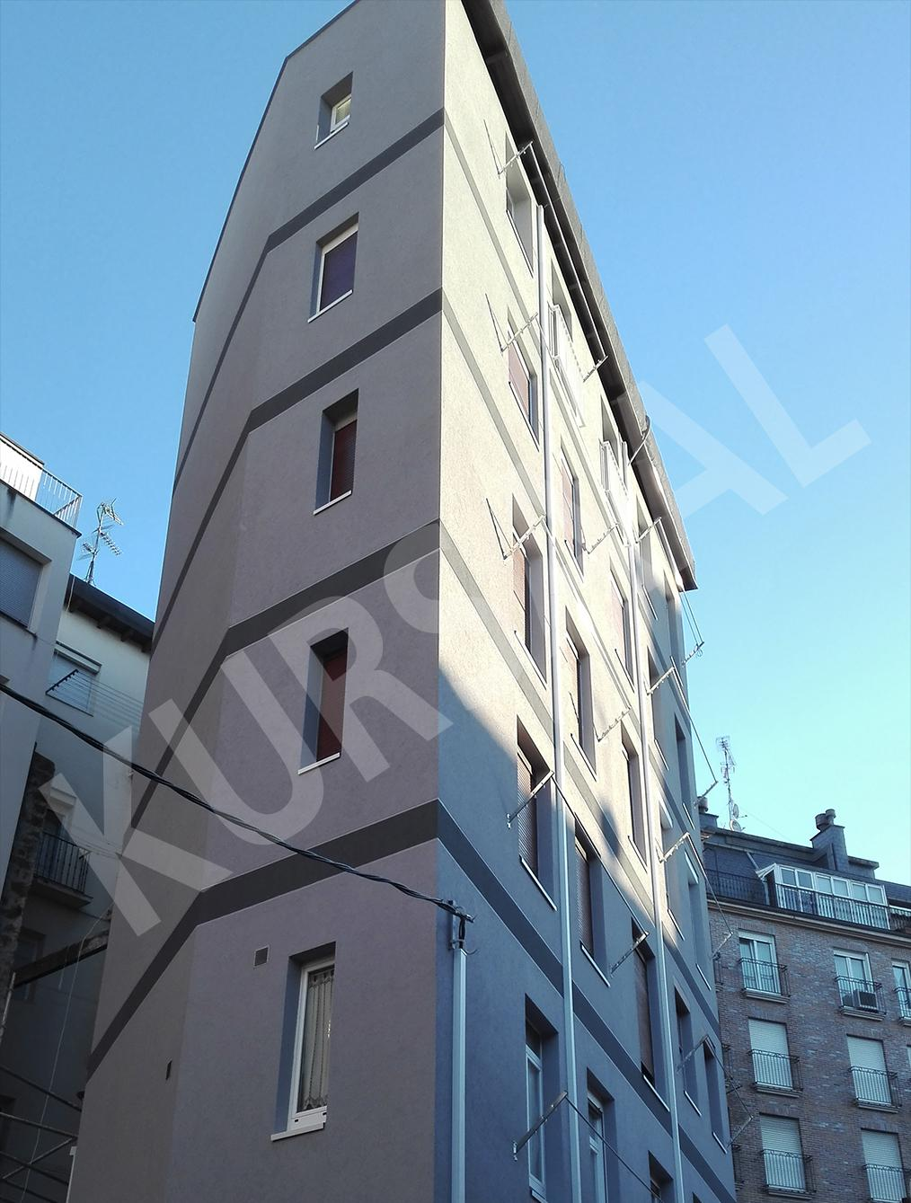 trabajo realizado en: Aislamientos Térmicos y Eficiencia Energética-SATE-DONOSTIA-Egia 24 BIS