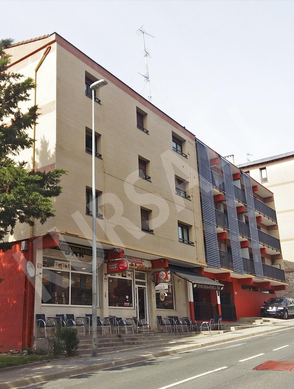 trabajo realizado en: Aislamientos Térmicos y Eficiencia Energética-SATE-DONOSTIA-Paseo de Herrera 5-7