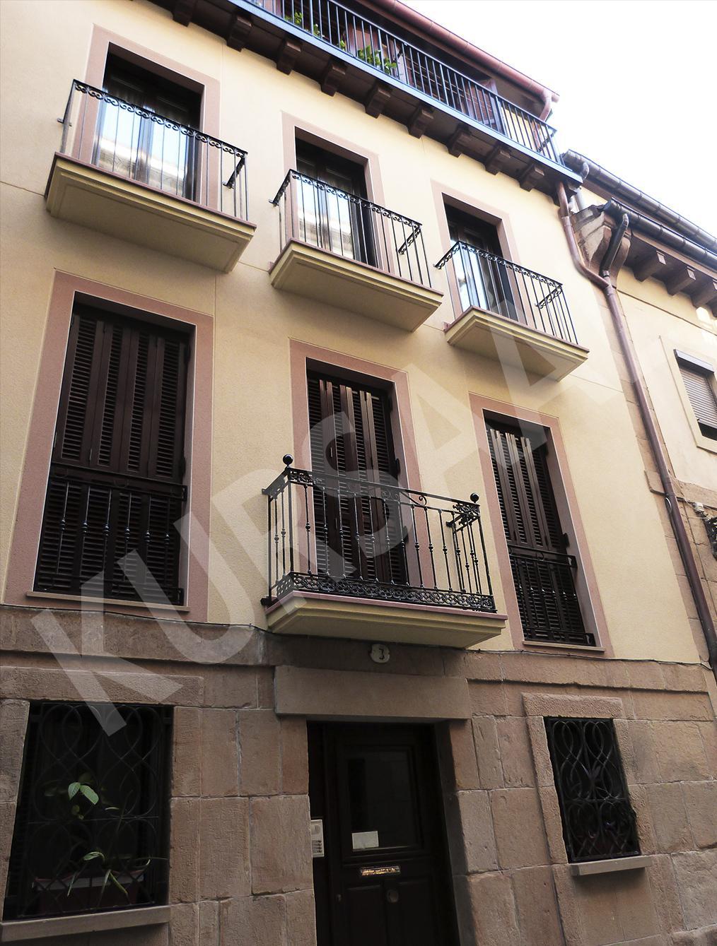 trabajo realizado en: Restauración y patrimonio-RESTAURACIÓN-DONOSTIA-Campanario 3