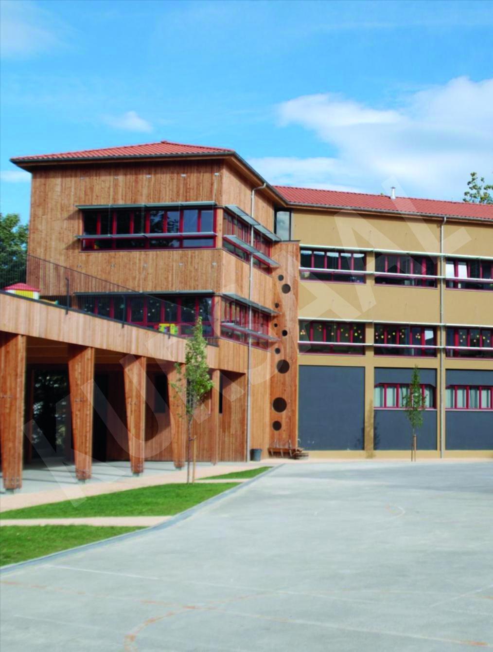 trabajo realizado en: Aislamientos Térmicos y Eficiencia Energética-SATE-TOLOSA-Ikastola Laskorain