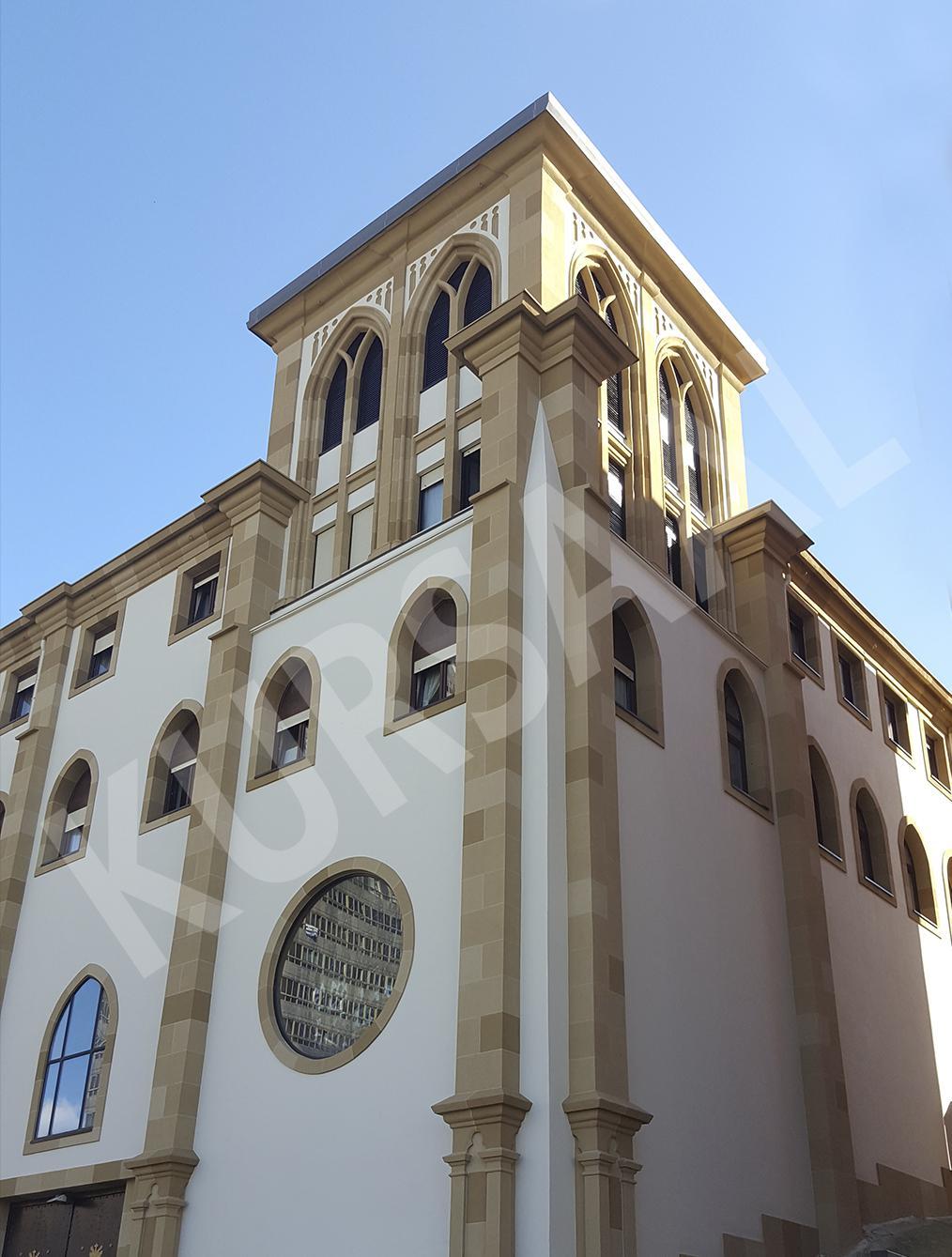 trabajo realizado en: Restauración y patrimonio-DONOSTIA-Convento-Iglesia Franciscanos - Duque de Mandas