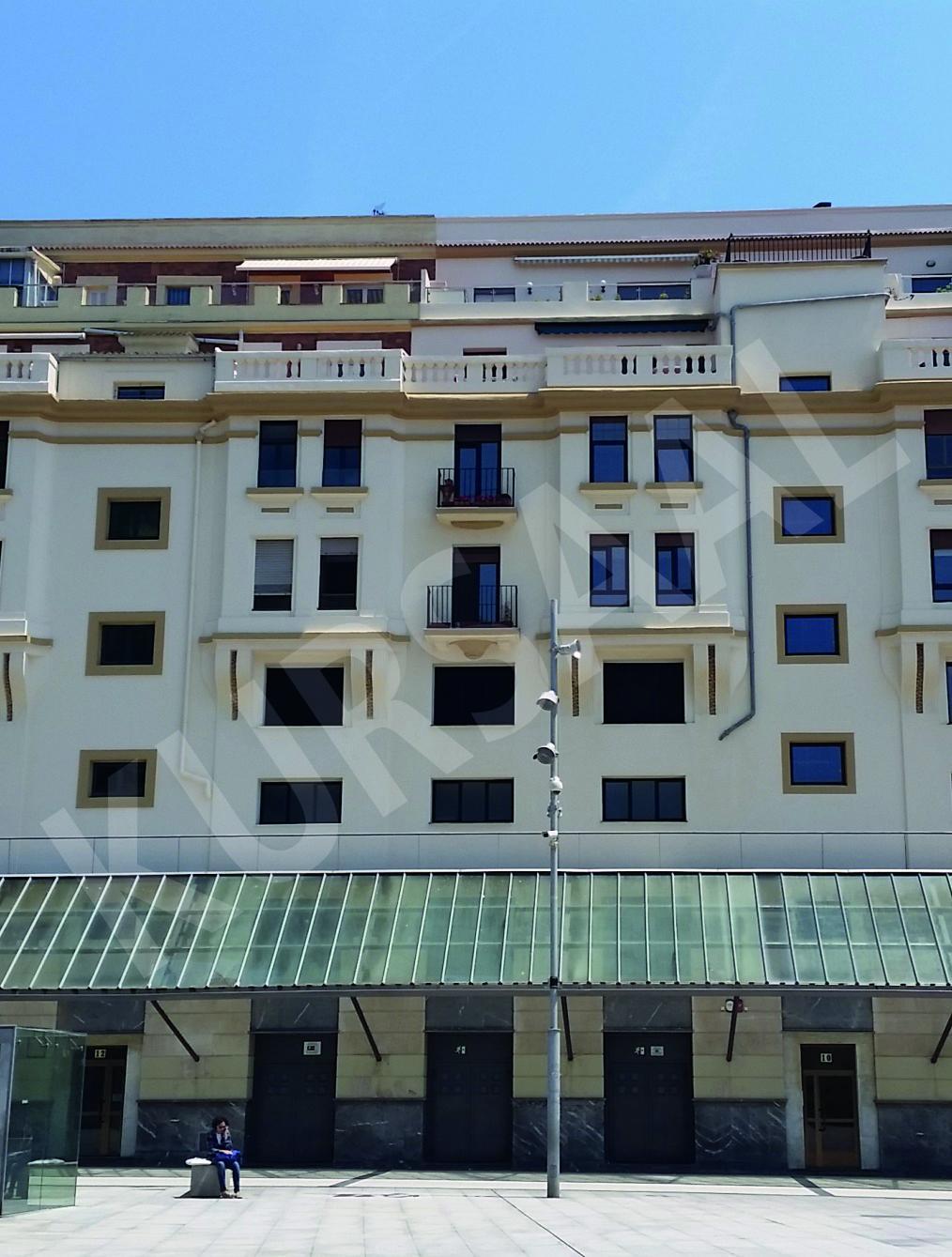 trabajo realizado en: Restauración y patrimonio-DONOSTIA-San Juan 10-12