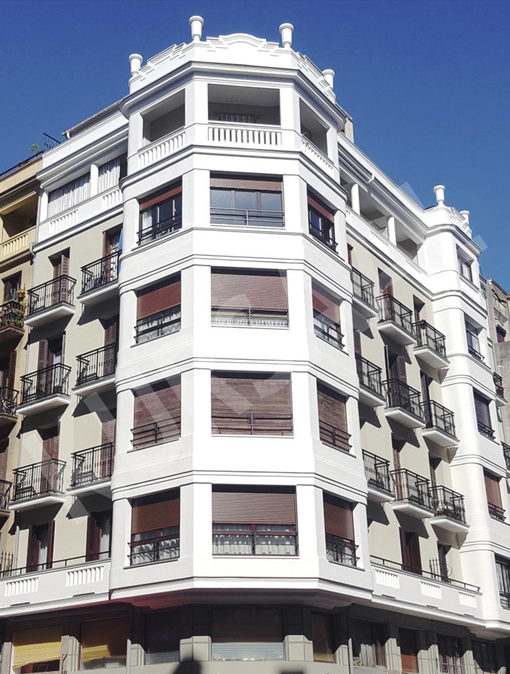 trabajo realizado en: Aislamientos Térmicos y Eficiencia Energética-SATE-Donostia-Gran Vía 16
